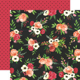 Botanical Garden: Poppy Petals 12x12 Patterned Paper