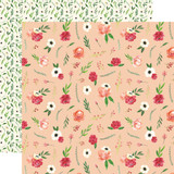 Botanical Garden: Poppy Bundle 12x12 Patterned Paper