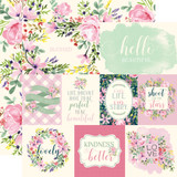 Botanical Garden: Daisy Journaling Cards 12x12 Patterned Paper