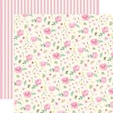 Botanical Garden: Daisy Wreath 12x12 Patterned Paper