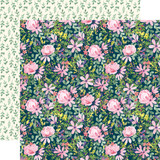 Botanical Garden: Daisy Corsage 12x12 Patterned Paper