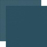 Carta Bella Dots & Stripes: Navy Dots 12x12 Patterned Paper