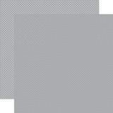 Carta Bella Dots & Stripes: Grey Dots 12x12 Patterned Paper