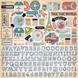 Cartography No. 1: Element Sticker Sheet