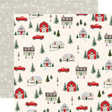 Christmas Market: Deck the Halls 12x12 Patterned Paper