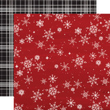 Christmas Market: Snowflakes 12x12 Patterned Paper