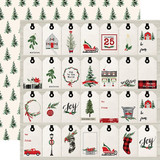 Christmas Market: Gift Tags 12x12 Patterned Paper