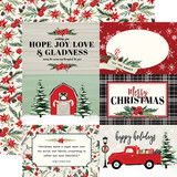Christmas Market: 4x6 Journaling Cards 12x12 Patterned Paper