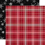 Christmas Market: Christmas Plaid 12x12 Patterned Paper