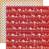 Circus: Circus Parade 12x12 Patterned Paper