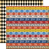 Circus: Admission Tickets 12x12 Patterned Paper