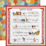 Circus: Music Sheet 12x12 Patterned Paper