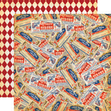 Circus: Traveling Circus 12x12 Patterned Paper
