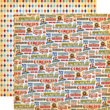 Circus: The Greatest Show 12x12 Patterned Paper