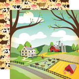 Country Kitchen: Farm Land 12x12 Patterned Paper