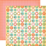 Country Kitchen: Dinner Plates 12x12 Patterned Paper