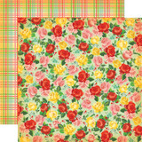 Country Kitchen: Rose Garden 12x12 Patterned Paper
