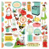 Country Kitchen: Element Sticker Sheet