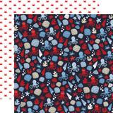Deep Blue Sea: Sea Creatures 12x12 Patterned Paper