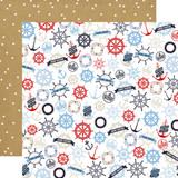 Deep Blue Sea: Bon Voyage 12x12 Patterned Paper