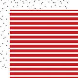 Deep Blue Sea: Sailor Stripe 12x12 Patterned Paper