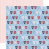 Deep Blue Sea: Seas the Day 12x12 Patterned Paper