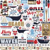 Deep Blue Sea: Element Sticker Sheet