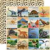 Dinosaurs: 3X3 Journaling Cards 12x12 Patterned Paper