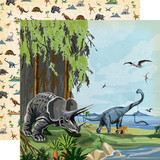 Dinosaurs: Prehistoric 12x12 Patterned Paper
