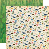 Dinosaurs: I Love Dinosaurs 12x12 Patterned Paper