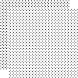 Dots & Stripes: White 12x12 Patterned Paper