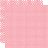 Dots & Stripes: Pink 12x12 Patterned Paper