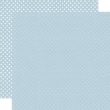 Dots & Stripes: Sky Blue 12x12 Patterned Paper