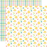 Easter Wishes: Cute Chicks 12x12 Patterned Paper