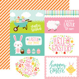 Easter Wishes: 4x6 Journaling Cards 12x12 Patterned Paper