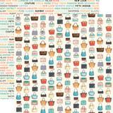 En Vogue: Purses 12x12 Patterned Paper