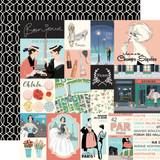 En Vogue: Journaling Cards 12x12 Patterned Paper