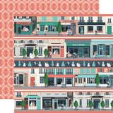 En Vogue: Border Strips 12x12 Patterned Paper