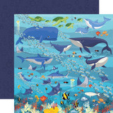 Fish Are Friends: Underwater Scene 12x12 Patterned Paper