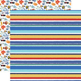 Fish Are Friends: Sea Stripes 12x12 Patterned Paper