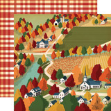 Fall Break: Harvest Town 12x12 Patterned Paper