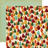 Fall Break: Autumn Trees 12x12 Patterned Paper
