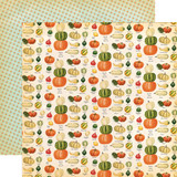 Fall Break: Gourd Variety 12x12 Patterned Paper