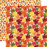 Fall Break: Crunchy Leaves 12x12 Patterned Paper