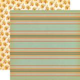 Fall Break: Scarecrow Stripe 12x12 Patterned Paper