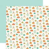 Fall Market: Pumpkin Patch 12x12 Patterned Paper