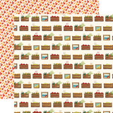 Fall Market: Harvest Crates 12x12 Patterned Paper