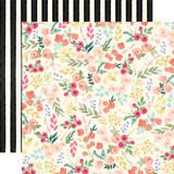 Flower Market: Market Floral 12x12 Patterned Paper