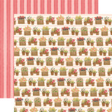 Flower Market: Planted Flowers 12x12 Patterned Paper
