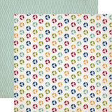 Getaway: Globes 12x12 Patterned Paper